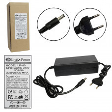 Блок Live-Power  12V  LP40  12V/4A=4A  {5,5*2,5}