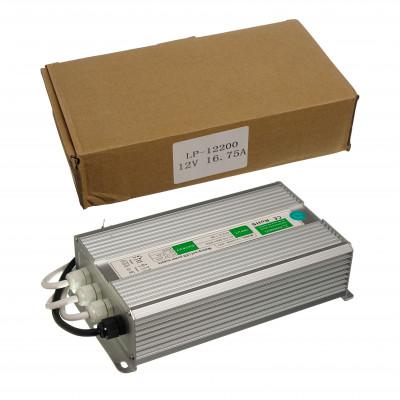 Б/п для светодиодной ленты  LP12200  12V 16,75A  200W