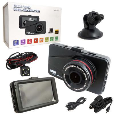 Авто-видеорегистратор  T-670G+ с 2-мя камерами