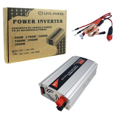 Автомобильный Инвертор 12V>>110V  700W