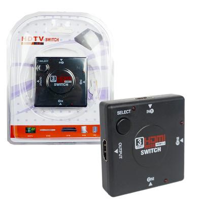Адаптер HDMI Switcher 3x1 Port (black)
