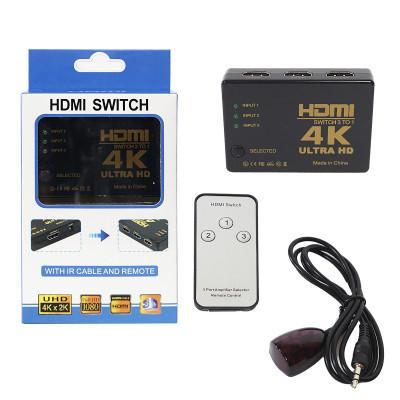 Адаптер HDMI Switch 3in1 4K 3 Port (black)