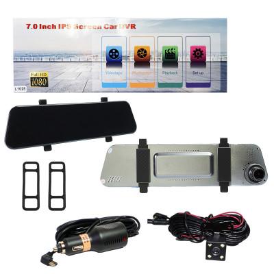 Зеркало Регистратор  L1025 7,0дюйм + камера заднего вида, LCD сенсорный