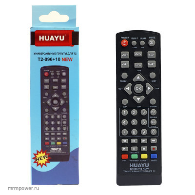 Пульт Универсальный для ТВ приставок 096+10