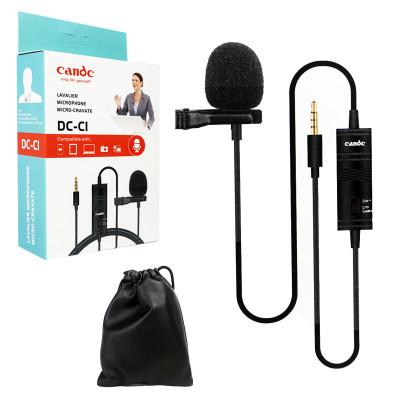 Петличный микрофон (jack 3,5) Candc DC-C1 кабель 6м