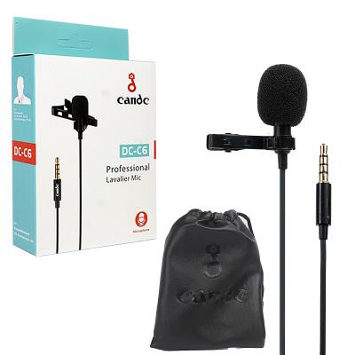 Петличный микрофон (jack 3,5) Candc DC-C6 кабель 6м