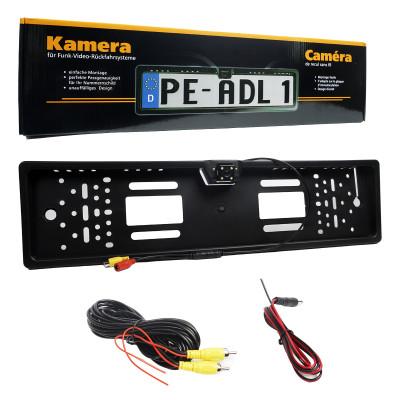 Рамка для номера XZ100 с камерой заднего вида (угол 125 градусов)