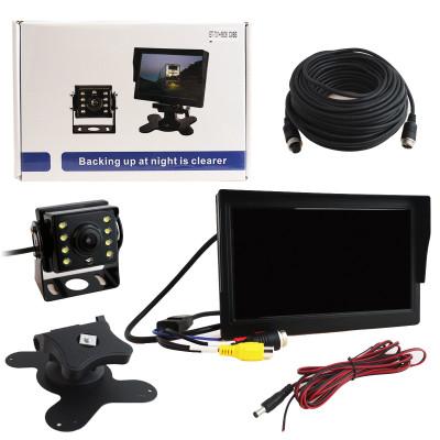 """Парковочная камера для грузовиков и автобусов ET-701+6606 AHD LED +7"""" Монитор"""