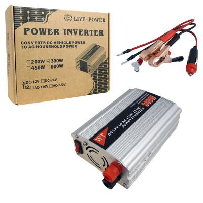 Автомобильный Инвертор 12V>>220V  300W