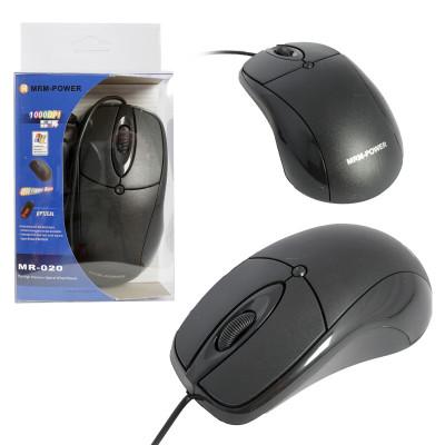 Мышь проводная MR-020 в блистере