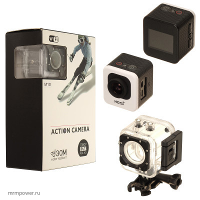 Экшн Камера  M10 WiFi 4K