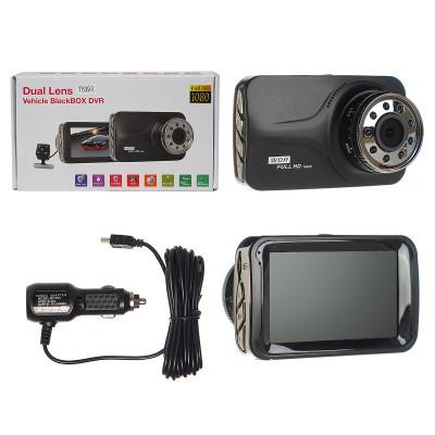 Авто-видеорегистратор  T-639 с 2-мя камерами